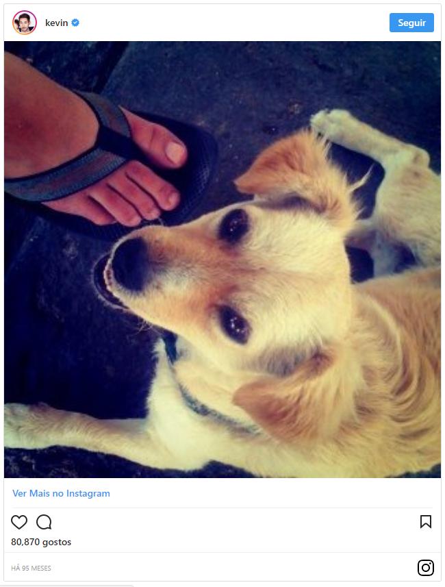 A 1ª foto publicada no Instagram em 2010