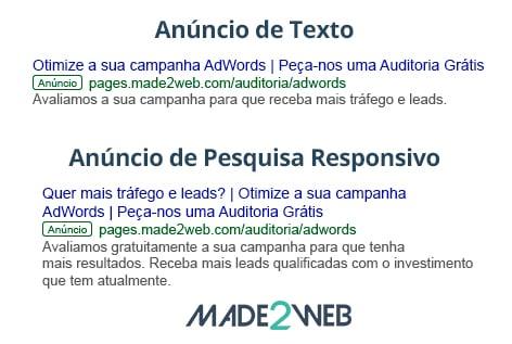 anuncio-de-texto-vs-anuncio-pesquisa-responsivo-made2web