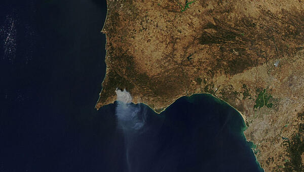 incendio-monchique-visto-do-espaço-nasa