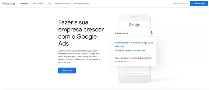 iniciar-sessao-google-ads