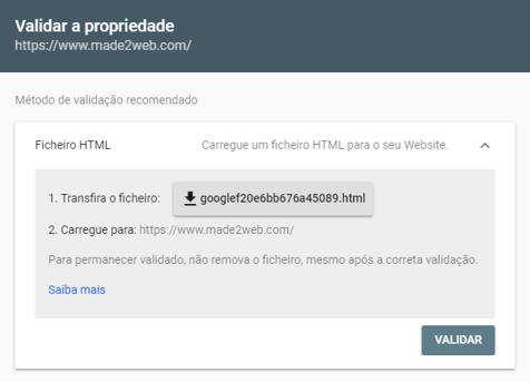 metodo-de-validacao-de-propriedade-search-console