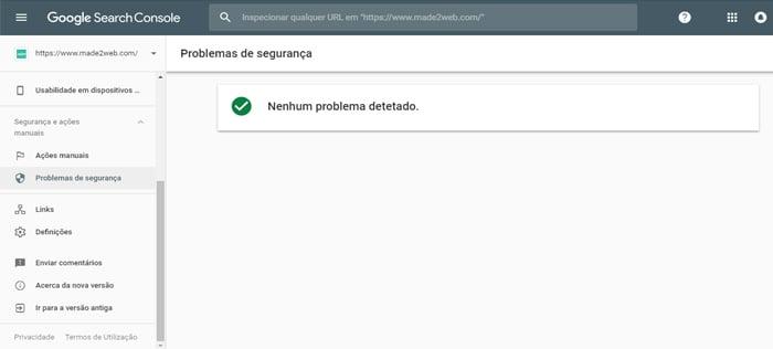 problemas-de-seguranca-search-console-made2web