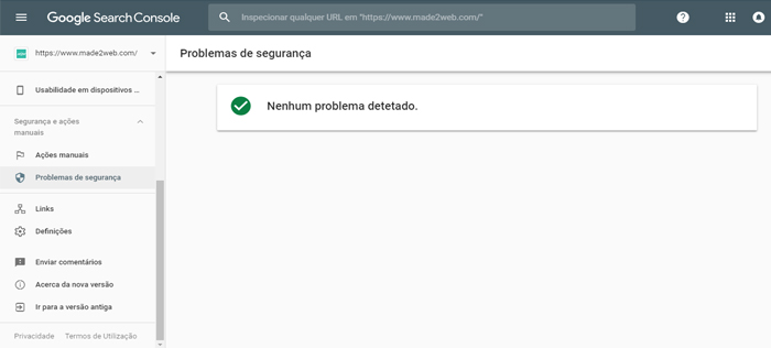 problemas-de-seguranca-search-console-made2web