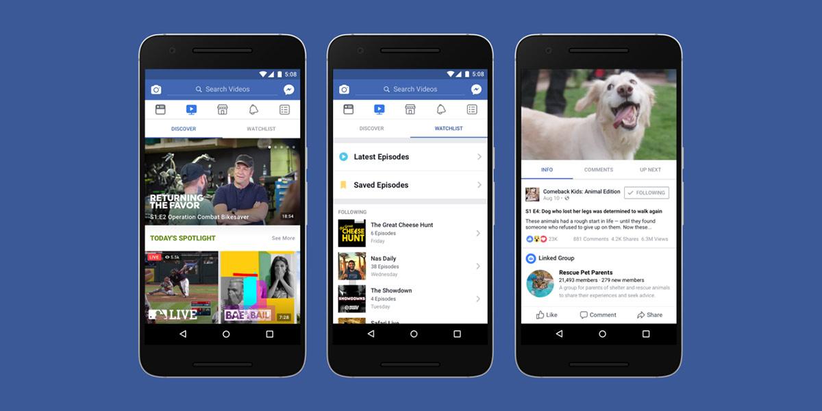 Facebook Watch: uma nova forma de criar e ver vídeos no Facebook