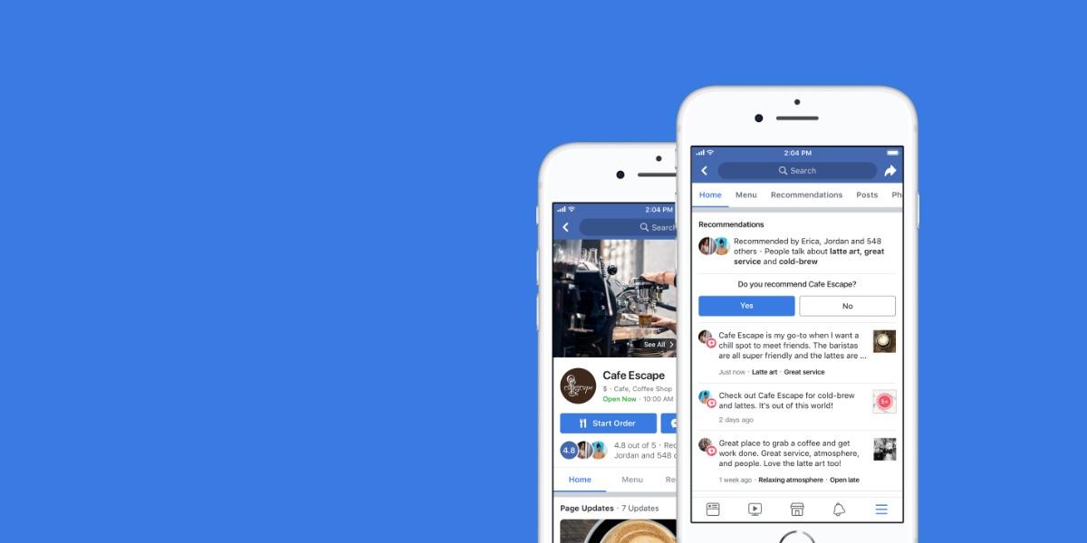 Conheça a nova ferramenta de Recomendações no Facebook (e outros 5 updates!)