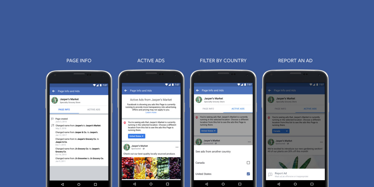 Transparência Online no Facebook: toda a gente vai poder ver os seus anúncios!
